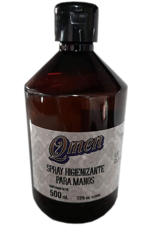 spray desinfectante manos 500 ml qmen