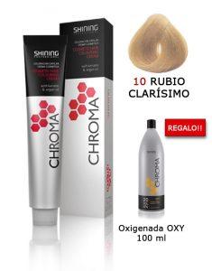 Tinte de pelo color RUBIO CLARÍSIMO Natural Shining Professional