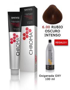 Tinte de pelo color RUBIO OSCURO INTENSO Natural Shining Professional